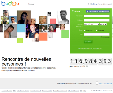 Badoo sans inscription